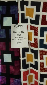 """""""Hole in the Fence"""" Quilt"""